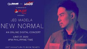 Jed Madela New Normal Digital Concert