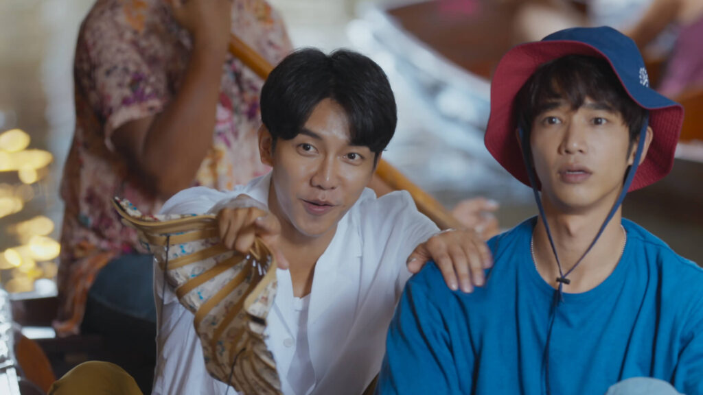 Lee Seung Gi and Jasper Liu in Thailand for Twogether
