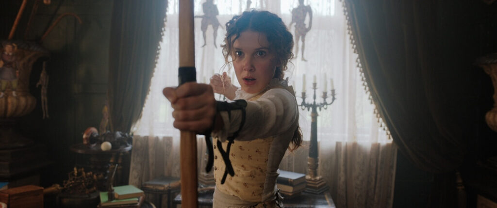Millie Bobby Brown as Enola Holmes