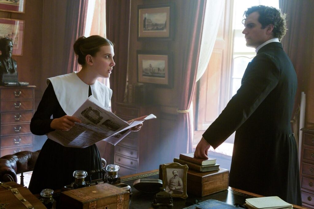Enola and Sherlock Holmes