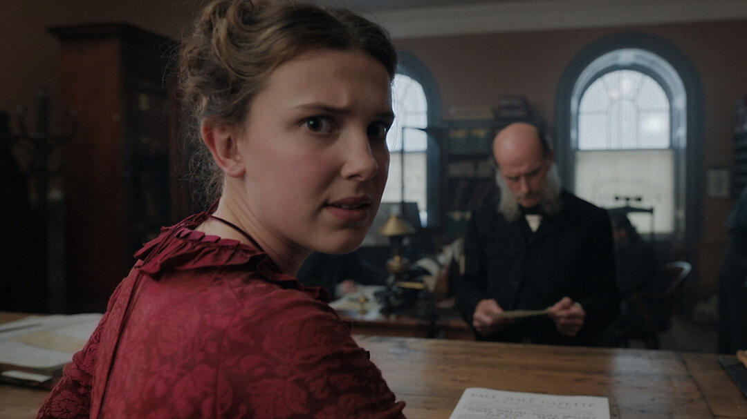 FIRST LOOK: Millie Bobby Brown is Enola Holmes in Upcoming Netflix Film