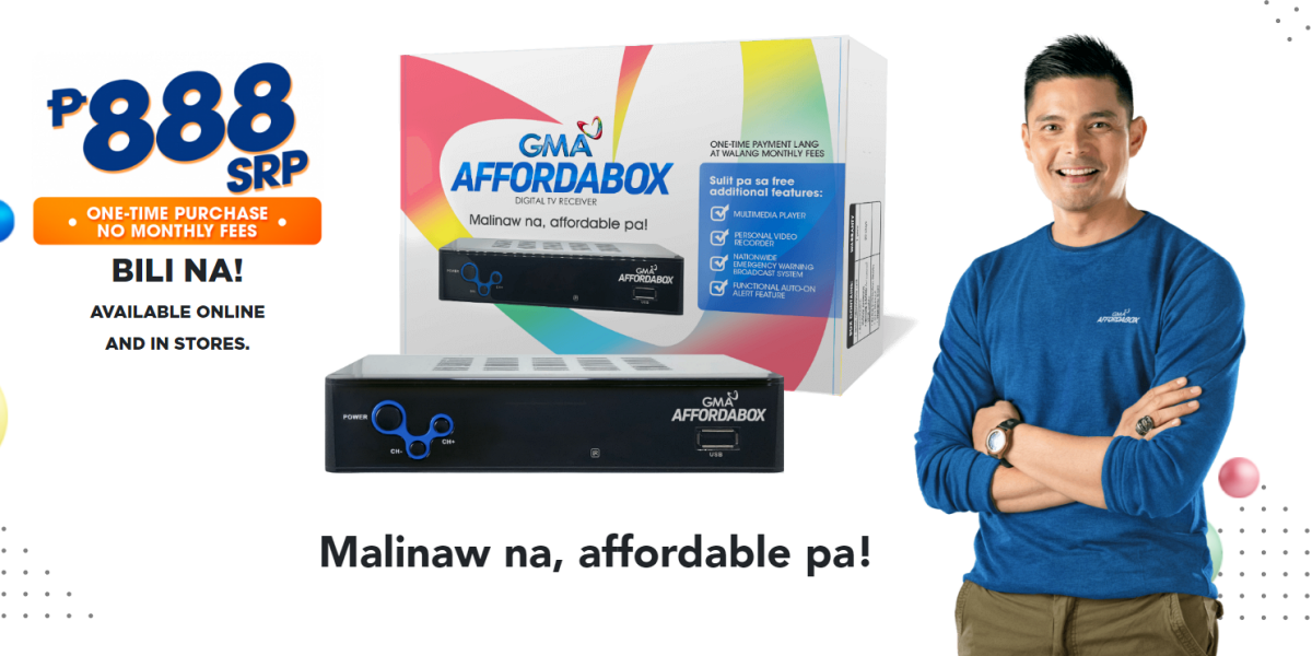 GMA Network Launches The 'GMA Affordabox' for Only P888