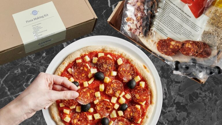Pizza Express DIY Pizza Kit