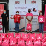 foodpanda delivers groceries to frontliners