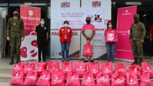 foodpanda delivers groceries to frontliners
