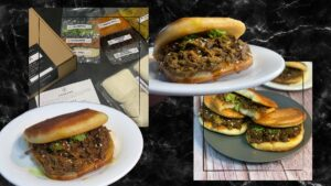 Your Local at Home beef Rendang Buns