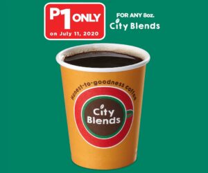 One Peso City Blends Coffee at 7-Eleven