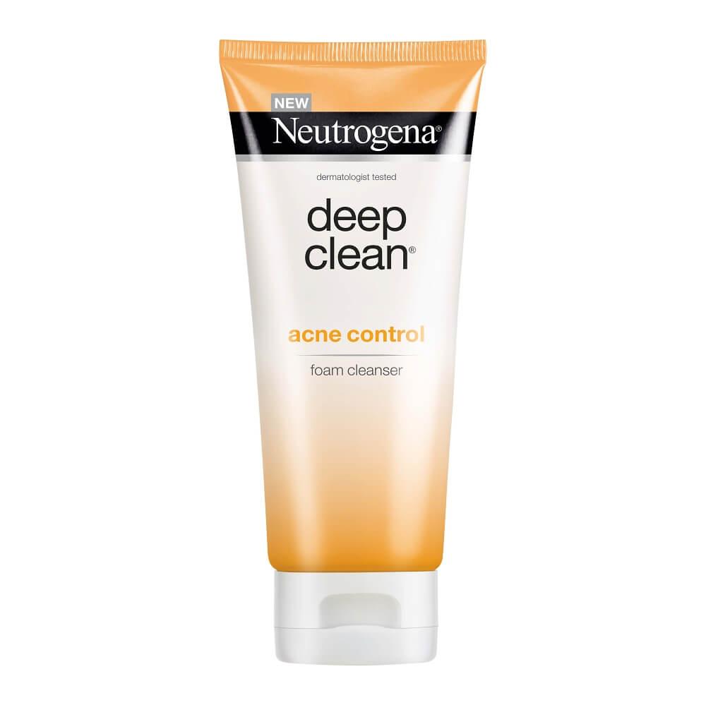 Neutrogena Deep Clean Acne Foaming Cleanser