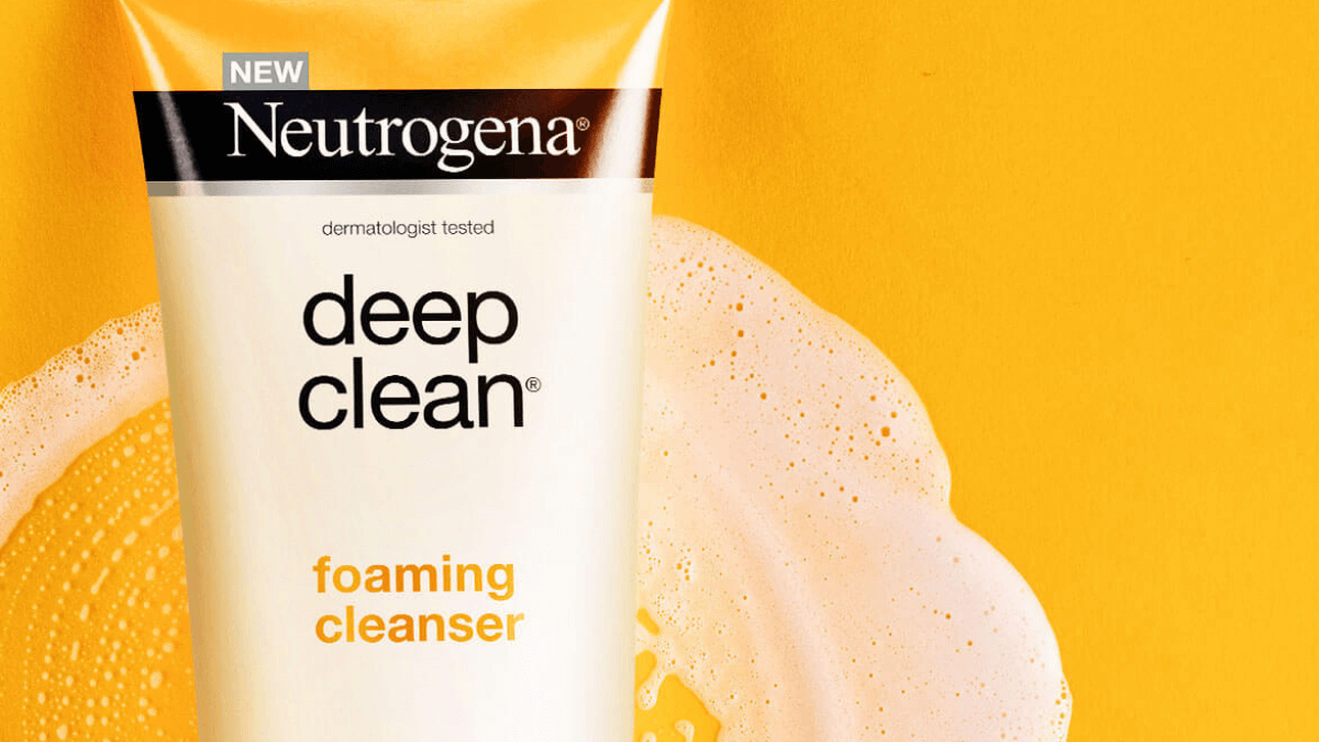 Up your Skin Care Routine with Neutrogena's Deep Clean Cleansers