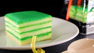 Ah Mah Pandan Kaya Layer Cake