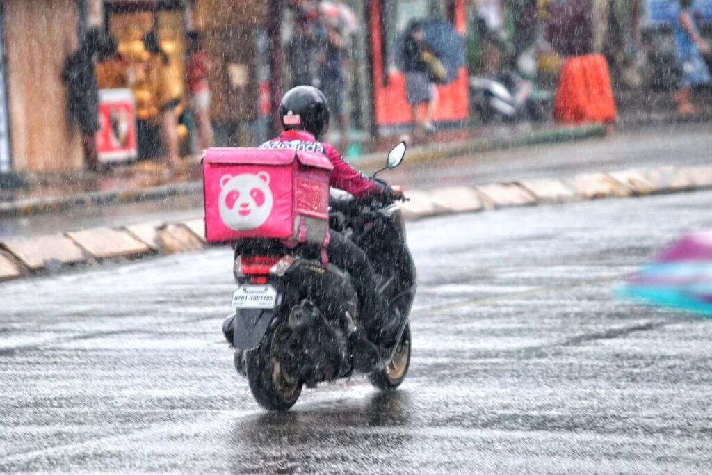 Rain or Shine, Foodpanda is Ready to Deliver