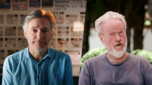 Kevin Macdonald and Ridley Scott