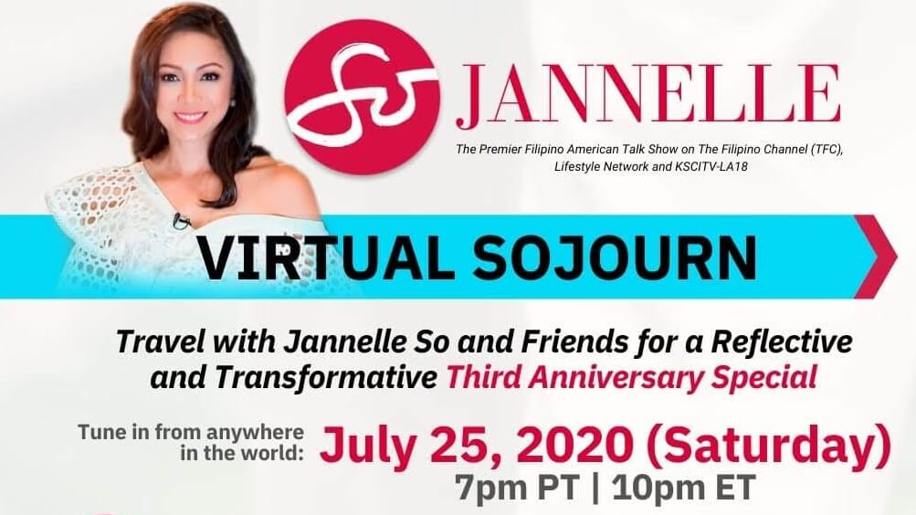 Fil-Am Media Pioneer Jannelle So To Host 90-Minute SOjourn This July 26
