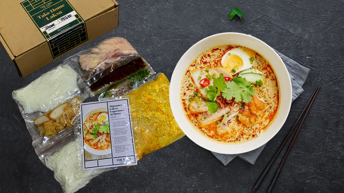 VIDEO: Have The Grid's Best-Selling Laksa at Home with The DIY Laksa Kit