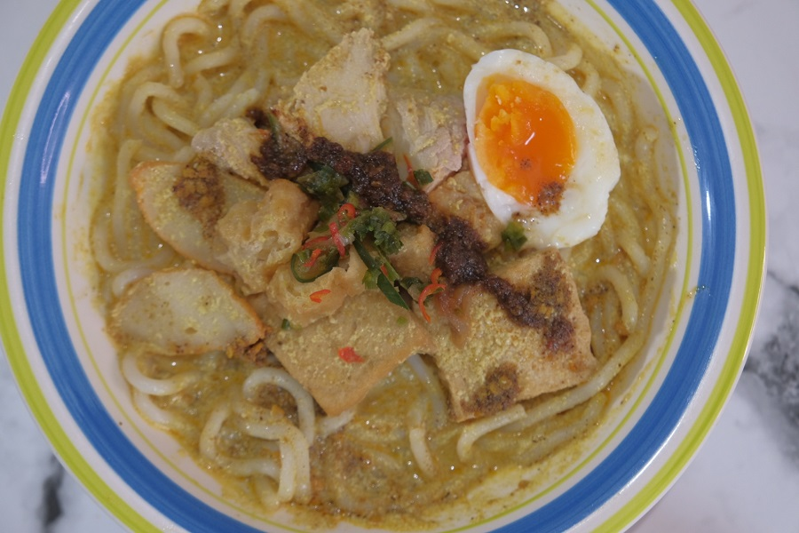 The Grid Chicken Laksa