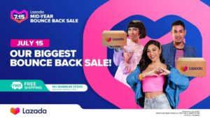 Lazada's Mid-Year Bounce Back Sale on July 15