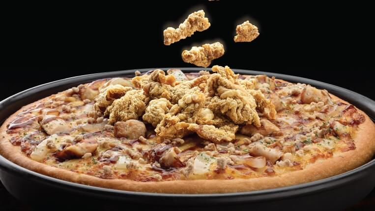 Pizza Hut Beer Pizza