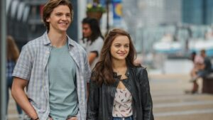 Joel Courtney and Joey King for The Kissing Booth