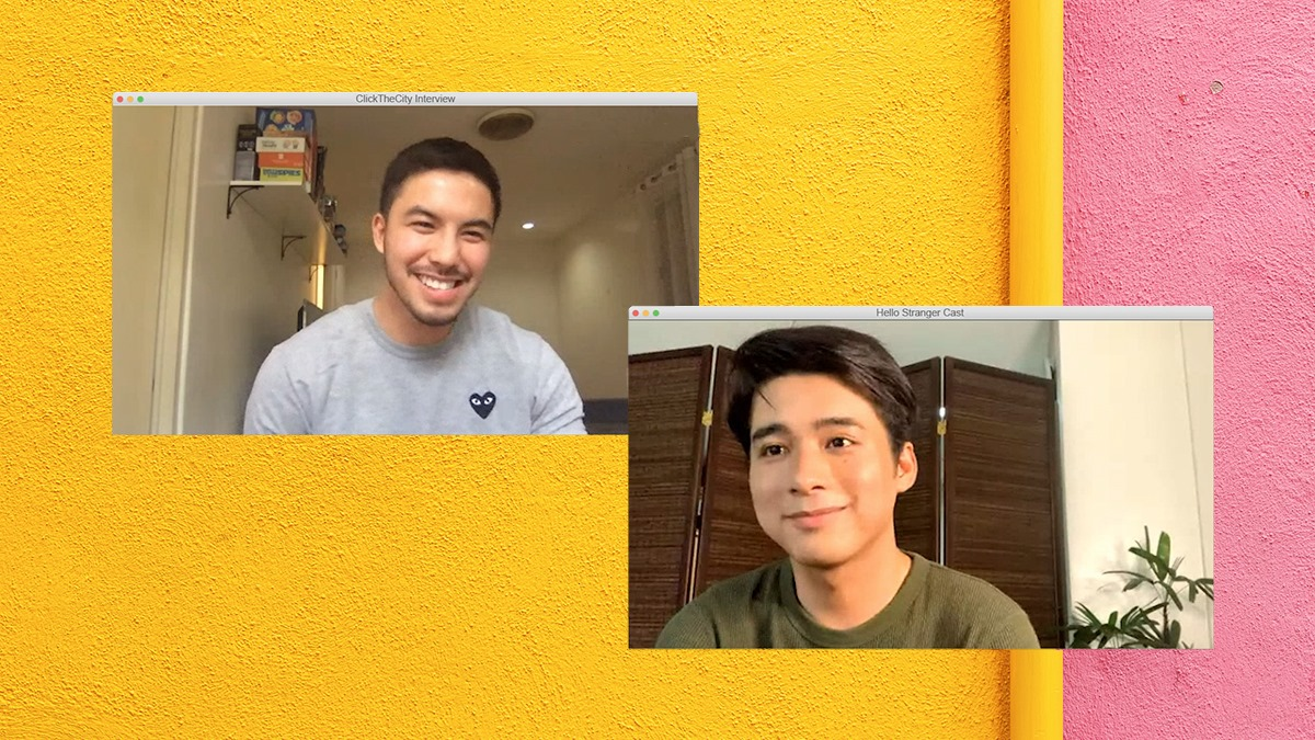 WATCH: Tony Labrusca and JC Alcantara on Working with Petersen Vargas Remotely for Hello Stranger