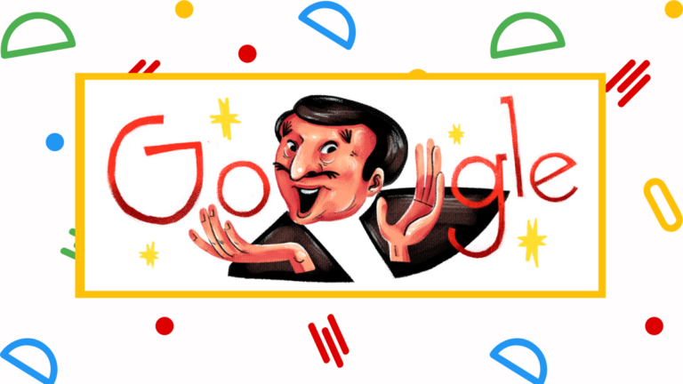 Google Doodle Dolphy's Birthday July 25
