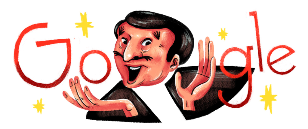 Google Doodle Features Dolphy this July 25