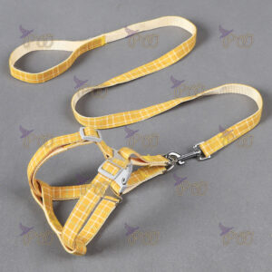 Soft Cotton Pet Leash and Harness