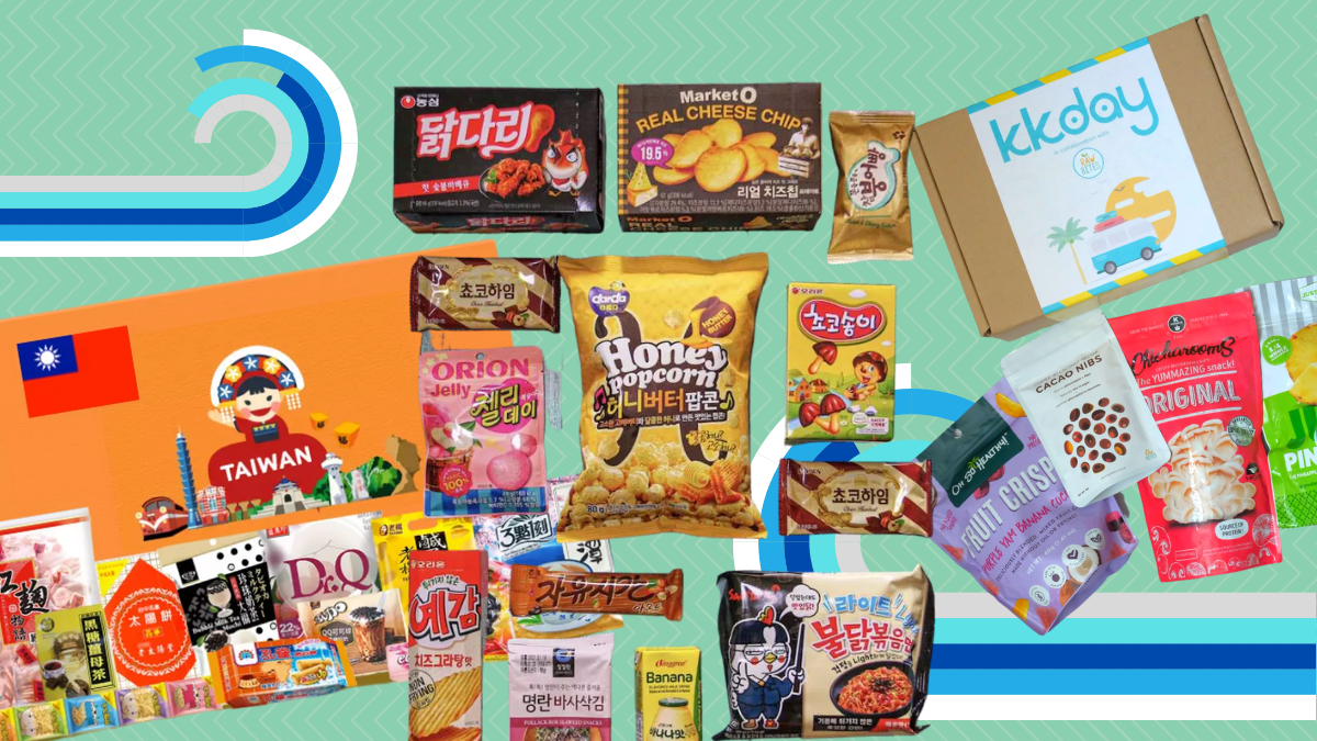KKday's Snack Boxes Bring Flavors Around The World to Your Home