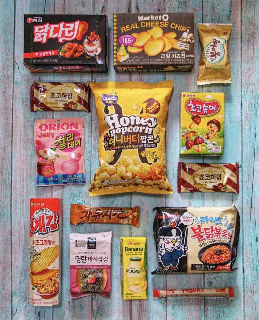 Kkday Korea Special Snack Box