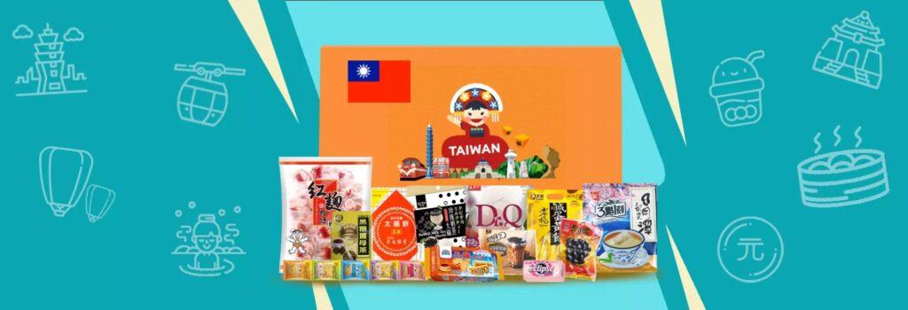 KKday Taiwan Snack Box