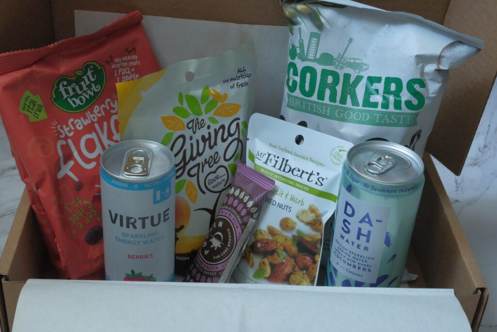 KKday Snack Box from UK