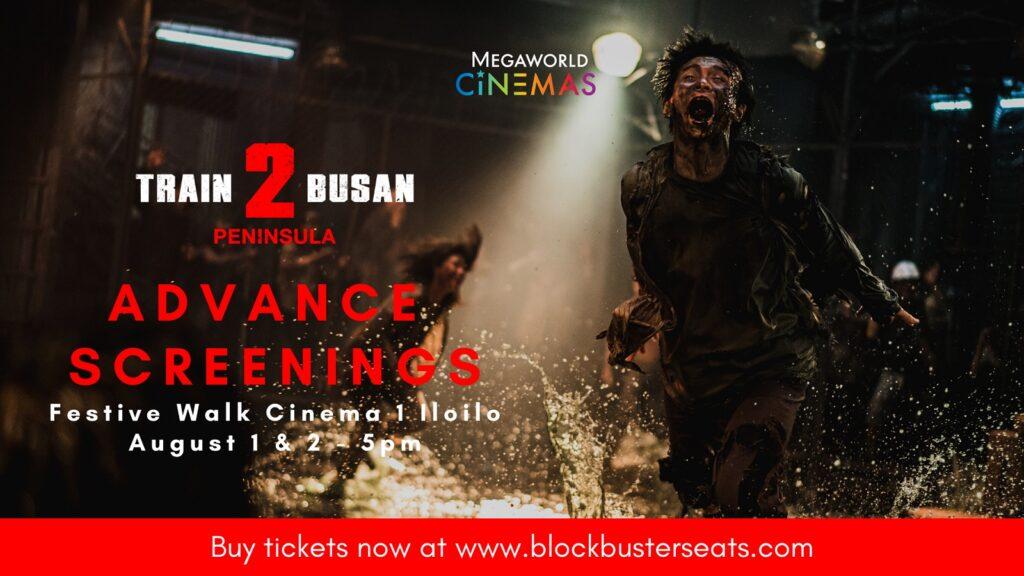 Festive Walk Cinemas to hold advanced screenings of Train to Busan sequel