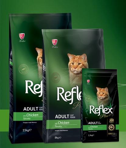 Reflex Plus Cat Food Chicken 1.5kg - ClickTheCity