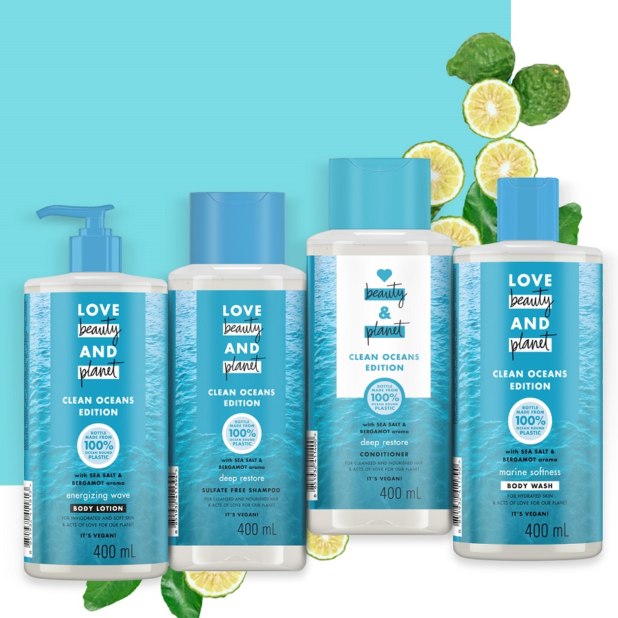 Love Beauty and Planet Clean Oceans Range