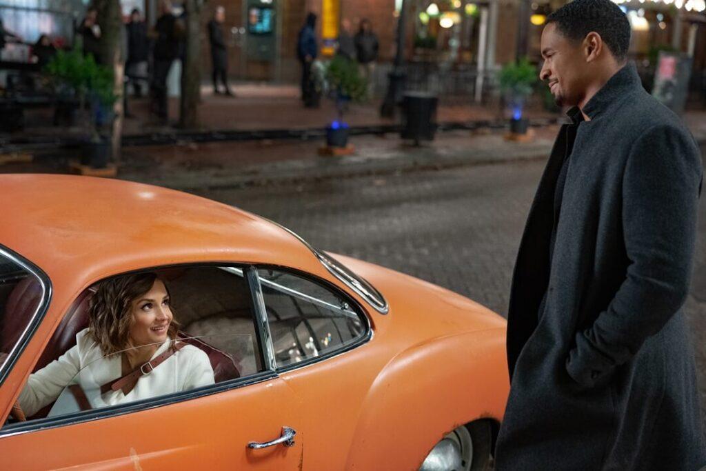 Rachael Leigh Cook and Damon Wayans Jr. in Love, Guaranteed