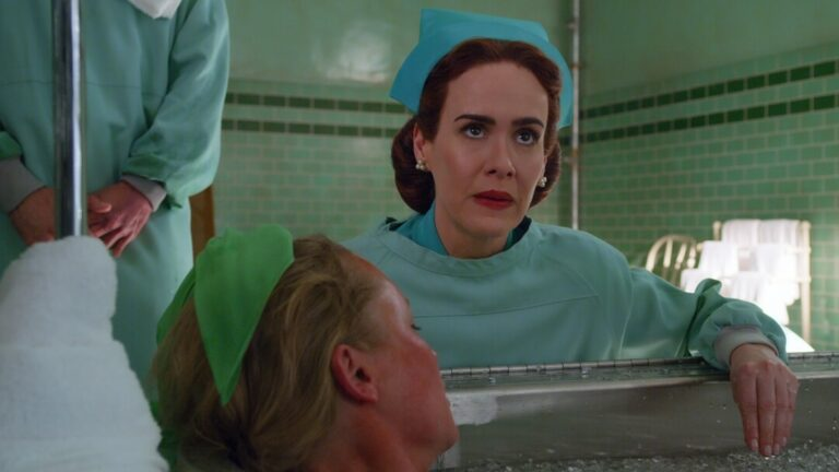 Sarah Paulson in Ratched