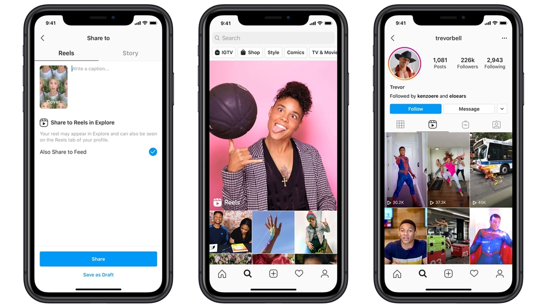 Instagram Introduces the New Video Feature 'Reels'