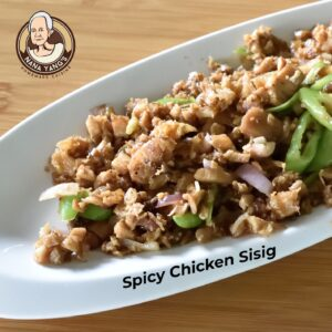 Spicy Chicken Sisig