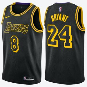 Nike NBA City Edition Swingman Jersey – Kobe Bryant 'Black Mamba' Los Angeles Lakers