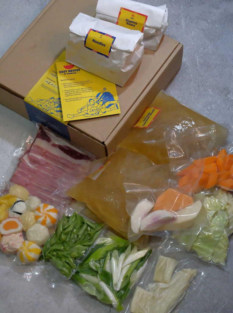 Chicken Coconut Easy Hotpot Kit by Champion