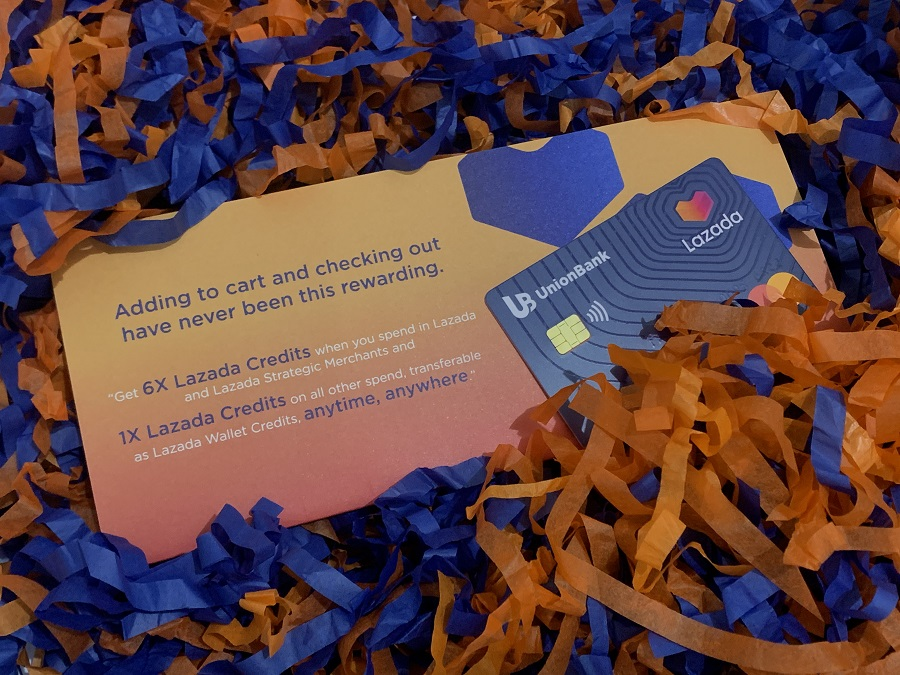 The Unionbank Lazada Credit Card also comes with a virtual credit card