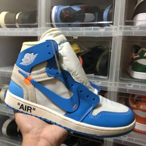 "Air Jordan 1 High OG x Off-White ""UNC"""