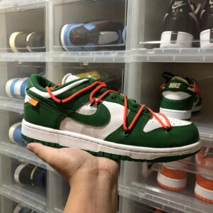"Nike Dunk Low x Off-White ""Pine Green"""