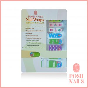 NAIL WRAPS – Posh & Playful 002 (Kids)