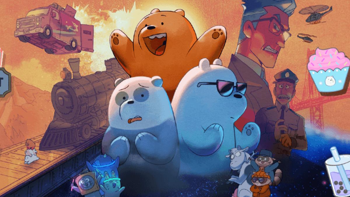 'We Bare Bears: The Movie' to Start Streaming on September