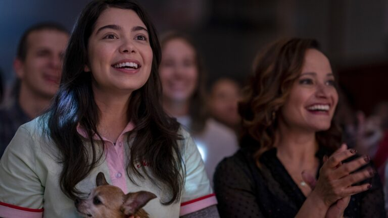 Auli'i Cravalho and Judy Reyes