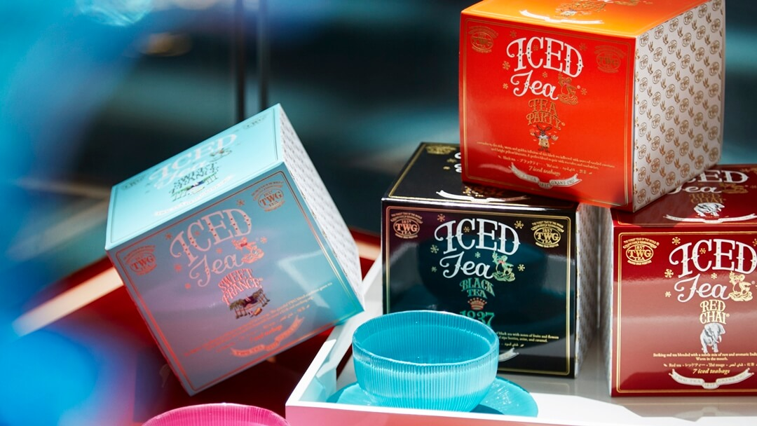 TWG Tea Brings Back the Taste of Summer with Its Iced Teabag Collection