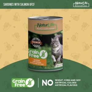 Naturlife Grain Free Cat Canned Food – 400g