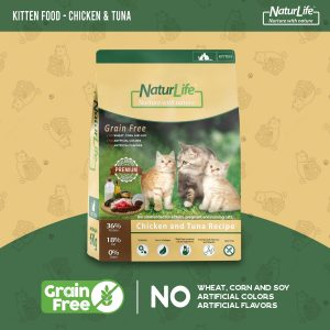 Naturlife Kitten Food – Chicken & Tuna Grain Free 6kg