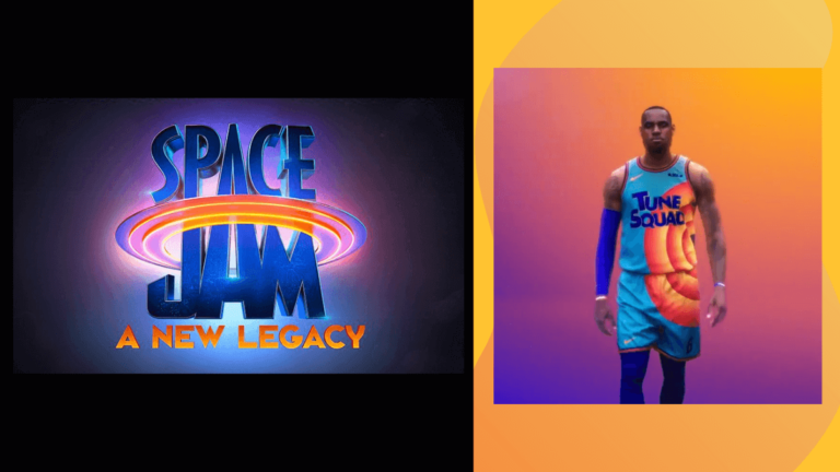 WATCH: LeBron James Reveals First Look at 'Space Jam' Sequel Jersey