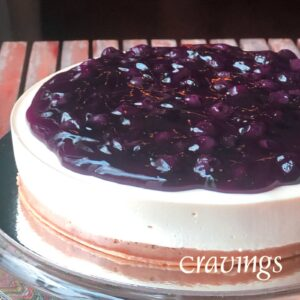 Original Chilled Blueberry Cheesecake